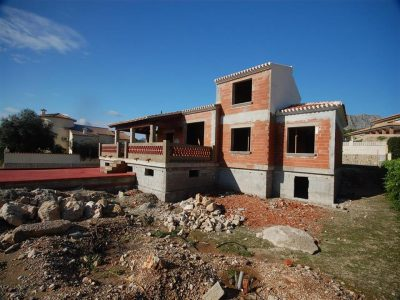 Superb villa in construction in a privileged residential area of Beniarbeig, located 500m to the vil,Spain