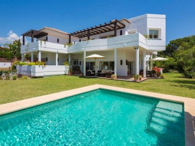 Beautiful Modern Beachside Villa set in a very much sought after area only 300 m from the best beach, Spain