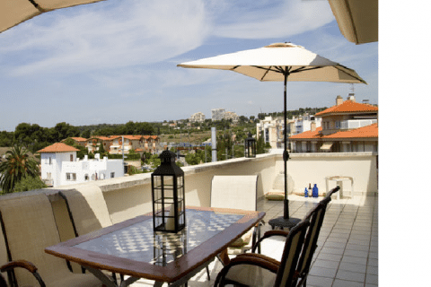 3 bedroom Penthouse to rent in Sitges
