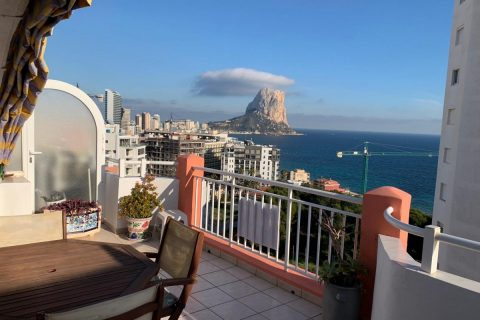 2 bedroom Penthouse for sale in Calpe
