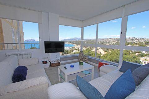 1 chambre Appartement à louer dans Moraira